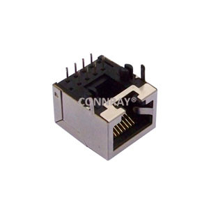 Side Entry Shielded RJ45 Modular Jack