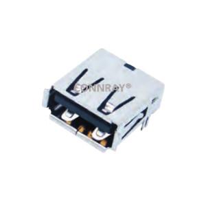 4P Thru-Hole AF USB 2.0 Female Socket