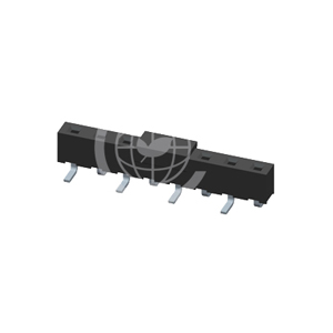 SMT Type Single Row 5.08mm Pitch Female Header
