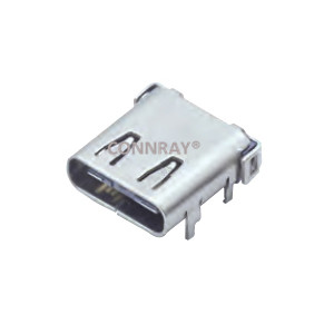 USB 3.1 C Type Female Connector 24PIN Top Mout