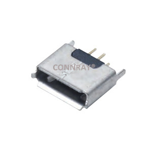 Micro USB 2.0 A/B Type Female Conn 5PIN Thru-Hole
