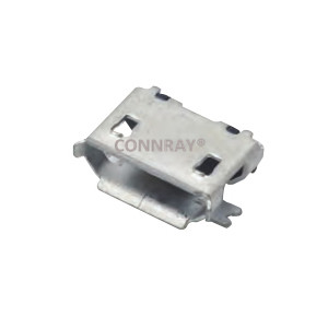 Micro USB 2.0 Receptacle SMT Type 5 PINS