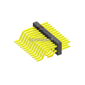 SMT Type Dual Row Right Angle 0.8*1.2mm Pitch PIN HEADER