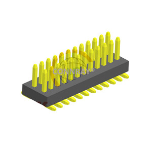 SMT Type Dual Rows Straight 0.8*1.2mm Pitch PIN HEADER