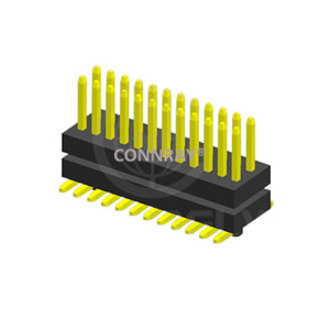 Stack SMT Type Dual Row PITCH 0.80mm PIN Header Connector