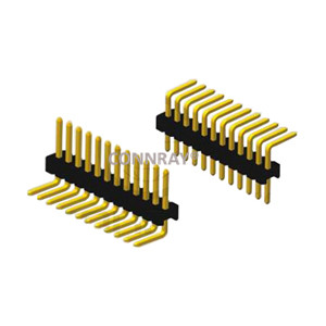 Single Row 12PIN Right Entry 1.27mm Pitch PIN Header