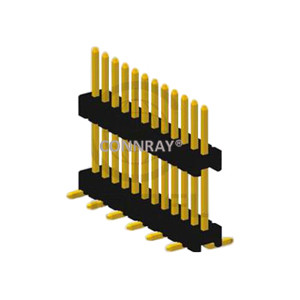 Vertical Mount SMT 1.27mm Pitch PIN Header with Board Spacer