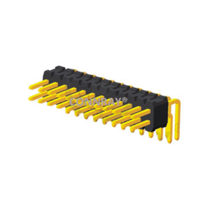 Right Angle Dual Row 1.27mm Pitch PIN Header