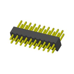 Straight Vertical Through 2.54mm PIN Header H=4.3mm