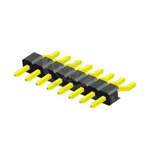 Surface Mount Type R.A 2.54mm Single Row PIN Header