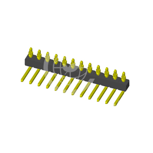 Single Row R/A Press-Fit 2.54mm PIN Header