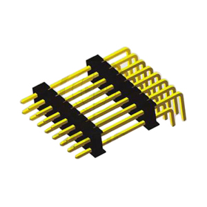 Dual Row Right Angle Type Pitch 2.54mm Board Spacers Pin Header