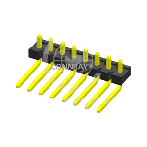 Single Row Right Angle 3.96mm Pitch PIN Header