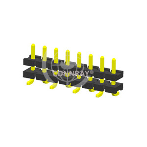 SMT Type Pitch 5.08mm Stack Single Row PIN Header
