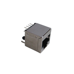 Shielded RJ45 Top entry Modular Jack